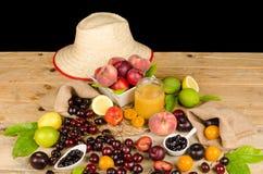 Sommarjordbruksprodukter Arkivfoton