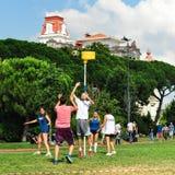 SommarKorfball händelse i Istanbul Arkivbilder