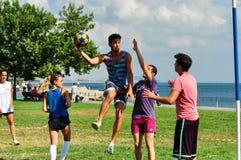SommarKorfball händelse i Istanbul Arkivbild