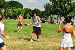 SommarKorfball händelse i Istanbul Royaltyfri Bild