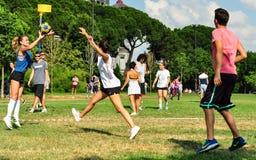 SommarKorfball händelse i Istanbul Fotografering för Bildbyråer