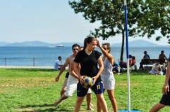 SommarKorfball händelse i Istanbul Royaltyfri Foto