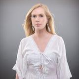 Sommarkvinna Fotografering för Bildbyråer