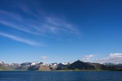 Sommarlandskap av Island Royaltyfria Foton