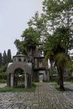 Sommarlopp i Abchazien sights Arkivbild