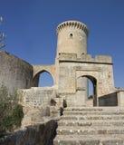 Sommarlopp i Spanien Ö Majorca Arkivbild