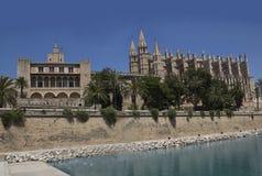 Sommarlopp i Spanien Ö Majorca Arkivfoton