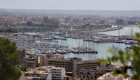 Sommarlopp i Spanien Ö Majorca Arkivbilder