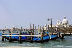 Sommarlopp till Venedig royaltyfria bilder