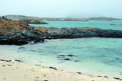 Sommaroy island, Norway Stock Images