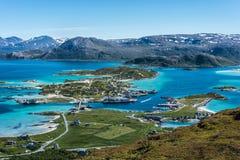 Sommaroy in Troms, Norway, Stock Image