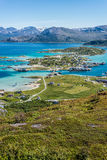 Sommaroy in Troms, Norway, Stock Photography