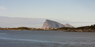 Sommaroy, Tromso county, Norway, landscape. Sommaroy, Tromso county, northern Norway Stock Image