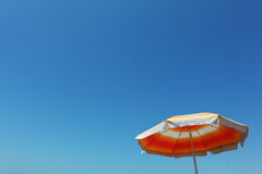 sommarparaply Royaltyfri Fotografi