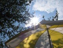 sommarparaply Royaltyfri Bild