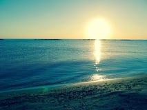 SommarPescara strand Italien Arkivfoto