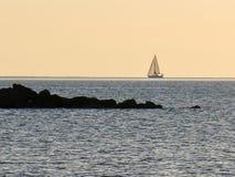 SommarPescara strand Italien Royaltyfri Bild