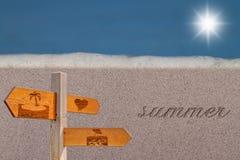 Sommarsäsong Arkivbild
