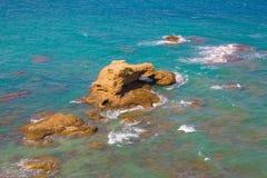 Sommarsemester på det abruzzo havet Royaltyfri Foto