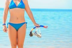 Sommarsemester på havssida arkivfoton