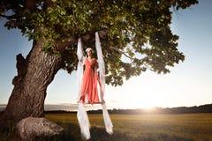 Sommarskönhetstil Fotografering för Bildbyråer