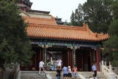 Sommarslott av Bejing i Kina Arkivfoto