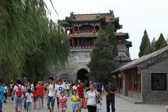 Sommarslott av Bejing i Kina Royaltyfri Bild