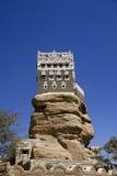 Sommarslott på Wadi Dhar Royaltyfri Fotografi