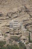 Sommarslott på Wadi Dhar arkivbilder