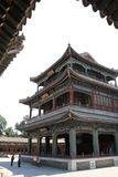 Sommarslott - Peking - Kina Royaltyfri Bild