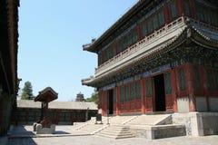 Sommarslott - Peking - Kina Arkivbild