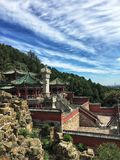 Sommarslotten, Peking royaltyfri bild