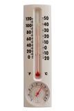 sommartemperatur Royaltyfri Fotografi
