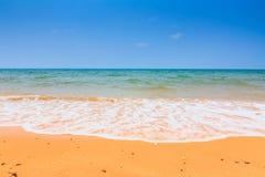 Sommartid på stranden Arkivbilder