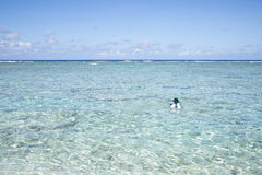 Sommartid på stranden tropiskt härligt hav för strand Royaltyfria Bilder