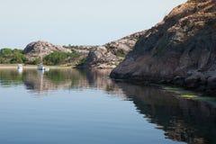 Sommartid på svenskkust Royaltyfri Bild