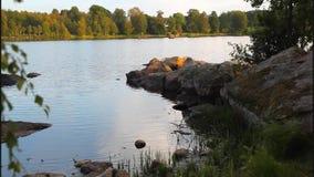 Sommartid sjö lager videofilmer