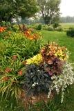 Sommarträdgård Arkivfoto