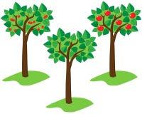 sommartrees Arkivbild