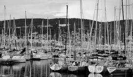 SommarTrieste port Italien Royaltyfria Foton