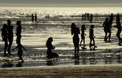 Sommarvattenritualer Arkivbilder