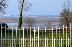 The Somme bay - France. The Somme bay in north of France royalty free stock photo