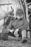 Somme de chat de soldat Image libre de droits