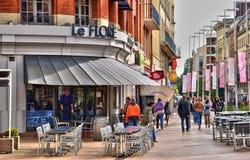 Somme, de schilderachtige stad van Amiens Stock Afbeelding