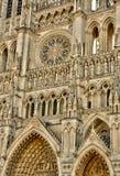 Somme, la città pittoresca di Amiens immagini stock