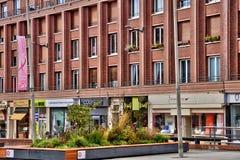 Somme, la città pittoresca di Amiens Immagine Stock Libera da Diritti