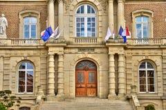 Somme, la città pittoresca di Amiens Fotografie Stock