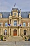 Somme, la città pittoresca di Amiens Fotografie Stock Libere da Diritti