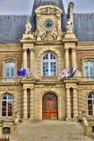Somme malowniczy miasto Amiens zdjęcie royalty free