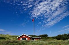 sommehus ουρανού Στοκ εικόνες με δικαίωμα ελεύθερης χρήσης